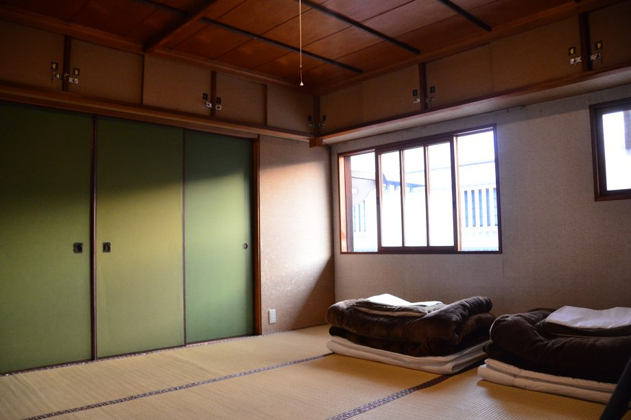 ゲストハウス有鄰庵「音」の部屋